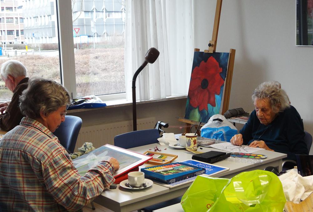 cursus tekenen en schilderen