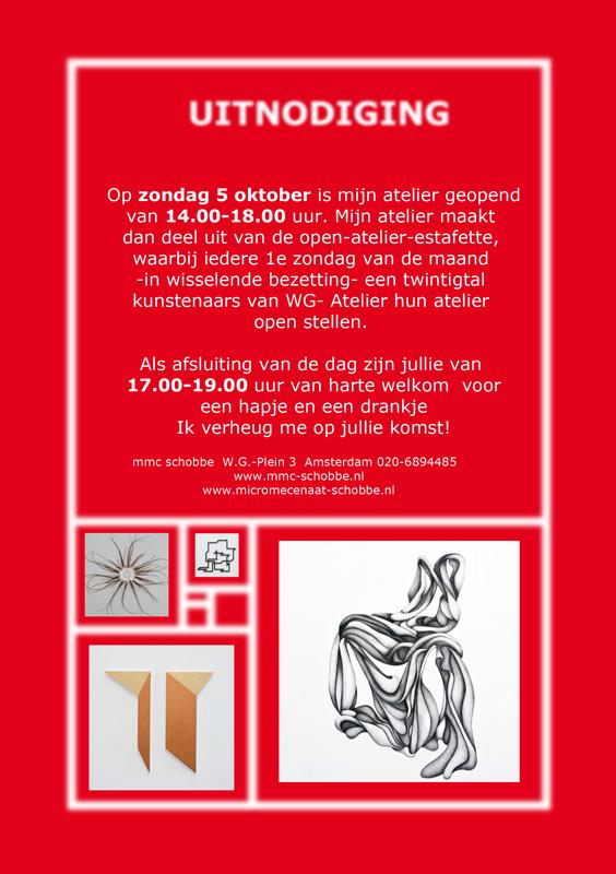 uitnodiging open ateliers