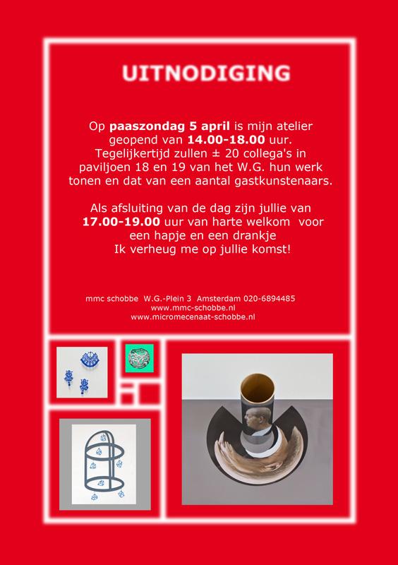 Uitnodiging open atelier