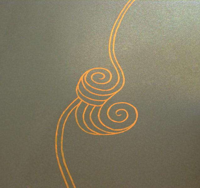 detail vloerschildering